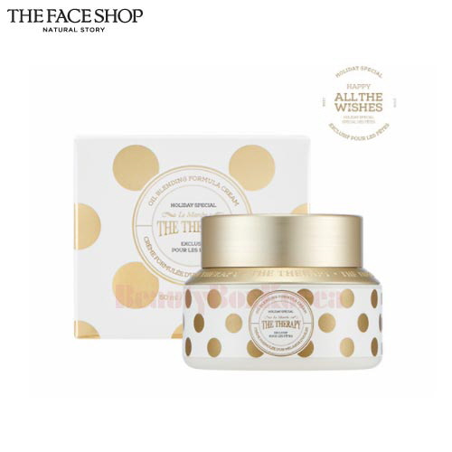 THE FACE SHOP Holiday The Therapy Oil Bleanding Cream 50ml [All The Wishes Edition]